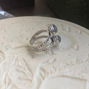 Jewelry - Labradorite Sterling Silver Ring Sz 6